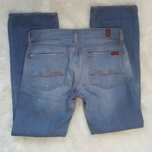 7 For All Man Kind Bootcut Jeans size 28